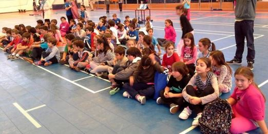 1º Mini Badminton Época 2014/15
