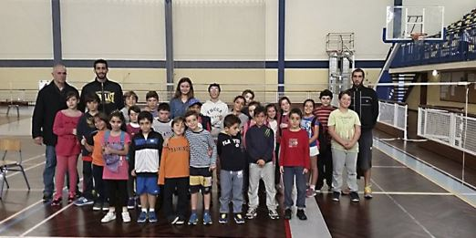 2º Mini Badminton Época 2014/15