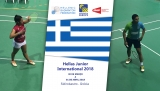Terminou o Hellas Junior International 2018